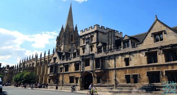 牛津圣玛丽大学教堂