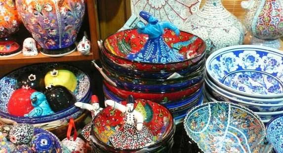 伊斯坦布尔陶瓷工艺品店