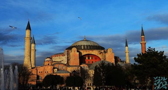 伊斯坦布尔圣索非亚大教堂