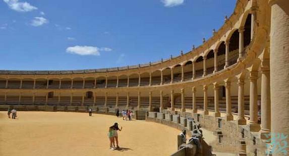 龙达斗牛场是西班牙最古老的斗牛场也是斗牛士们朝圣的地方