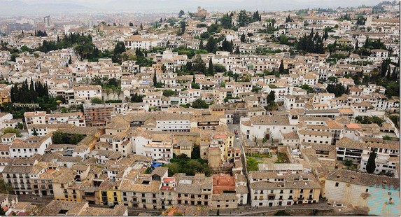 阿尔拜辛是格拉纳达的一个区1984年与著名的阿尔罕布拉宫一同被列为世界遗产